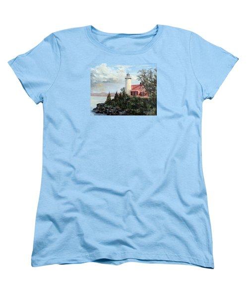Eagle Harbor Light Women's T-Shirt (Standard Cut)