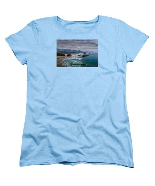 Ecola Viewpoint Women's T-Shirt (Standard Cut)