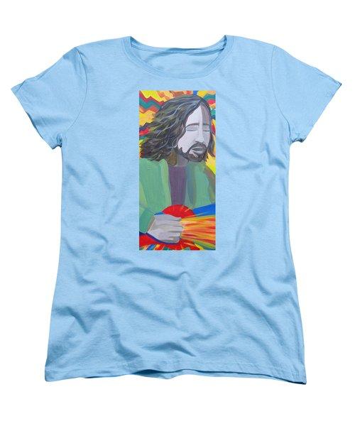 Eddie Women's T-Shirt (Standard Cut) by Kelly Simpson