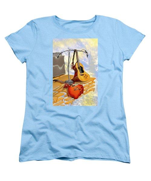 Electrical Meltdown Women's T-Shirt (Standard Cut) by Mike McGlothlen