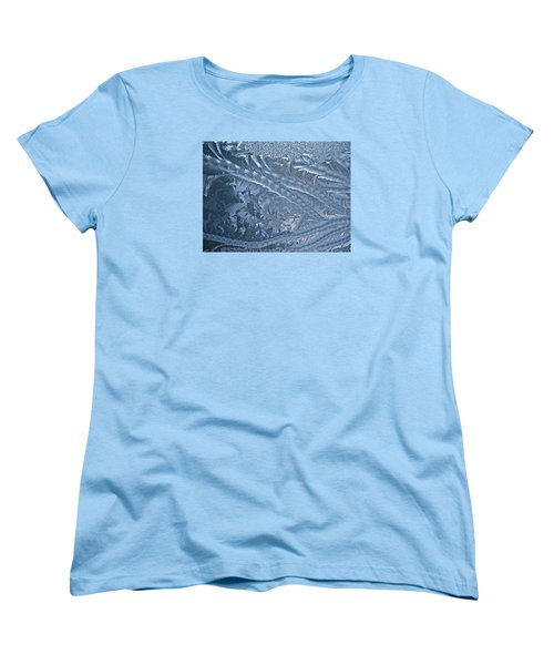 Women's T-Shirt (Standard Cut) featuring the photograph Elegant Blues by Joy Nichols