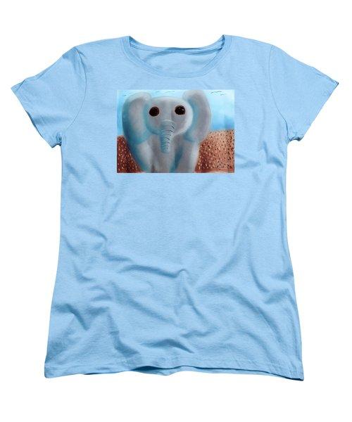 Animalart Elephant Women's T-Shirt (Standard Cut)