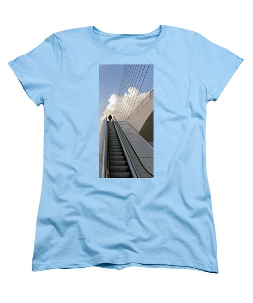 Elevator Women's T-Shirt (Standard Cut) by Mike Santis