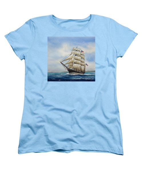 Elissa Women's T-Shirt (Standard Cut) by James Williamson
