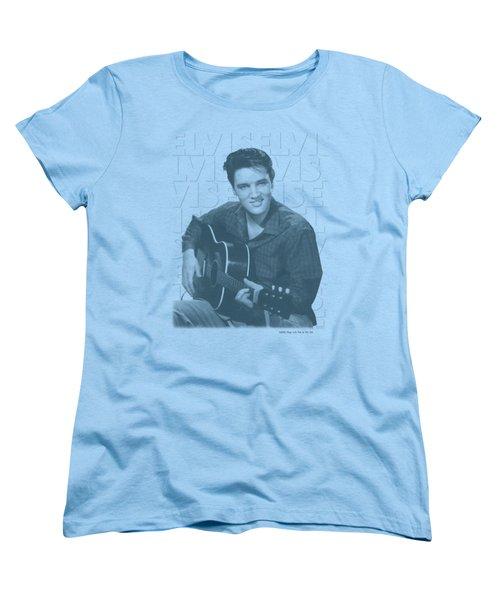 Elvis - Repeat Women's T-Shirt (Standard Cut) by Brand A