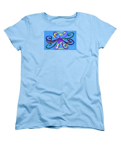 Women's T-Shirt (Standard Cut) featuring the photograph Embrace by Tina M Wenger