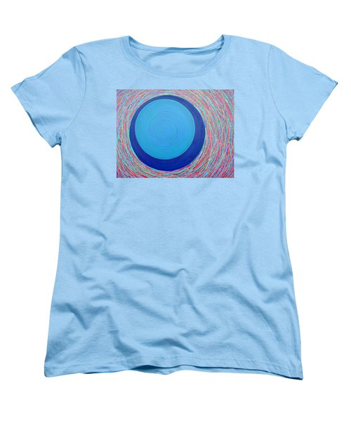 Women's T-Shirt (Standard Cut) featuring the painting Empty Cup 2 by Kyung Hee Hogg