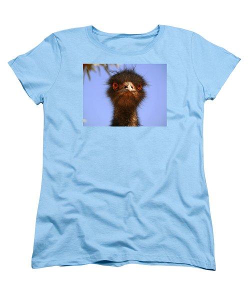 Emu Upfront Women's T-Shirt (Standard Cut) by Evelyn Tambour