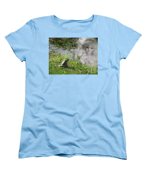Women's T-Shirt (Standard Cut) featuring the photograph Enchanted Prince Fairy Tale by Ella Kaye Dickey