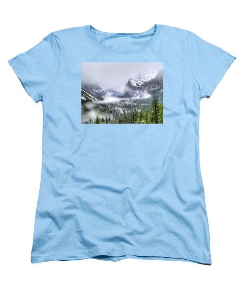 Enchanted Valley Women's T-Shirt (Standard Cut) by Bill Gallagher
