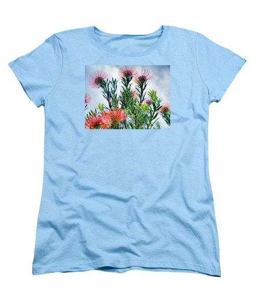 Enchanting Gardens 42 Women's T-Shirt (Standard Cut) by Dawn Eshelman