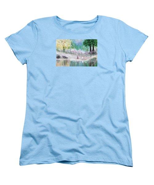 Endless Day Women's T-Shirt (Standard Cut) by Kume Bryant
