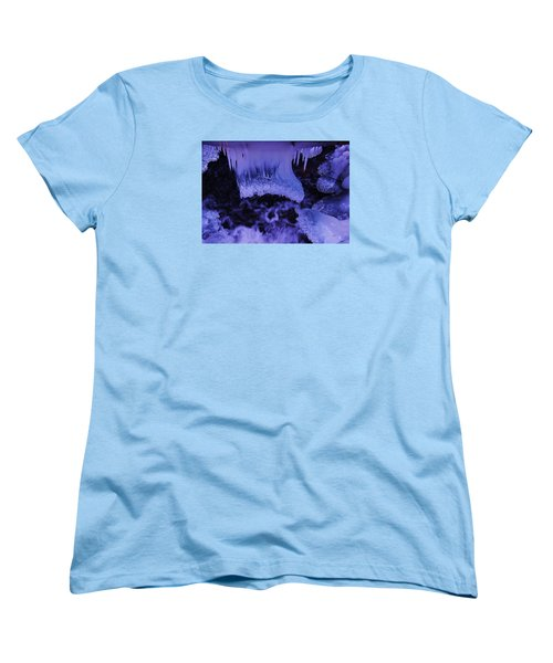 Women's T-Shirt (Standard Cut) featuring the photograph Enter The Lair by Sean Sarsfield
