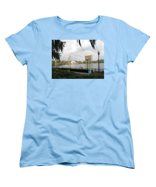 Eola Park In Orlando Women's T-Shirt (Standard Cut) by Judith Morris