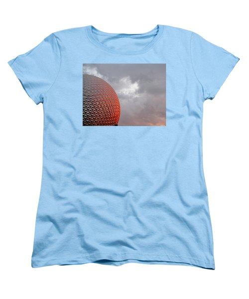 Women's T-Shirt (Standard Cut) featuring the photograph Epcot by Greg Simmons