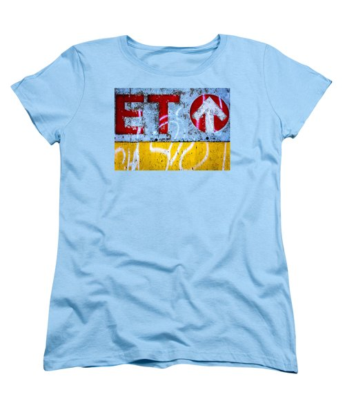 ET  Women's T-Shirt (Standard Cut) by Bob Orsillo