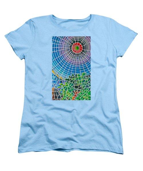 Women's T-Shirt (Standard Cut) featuring the digital art Eye Of God by Anthony Mwangi