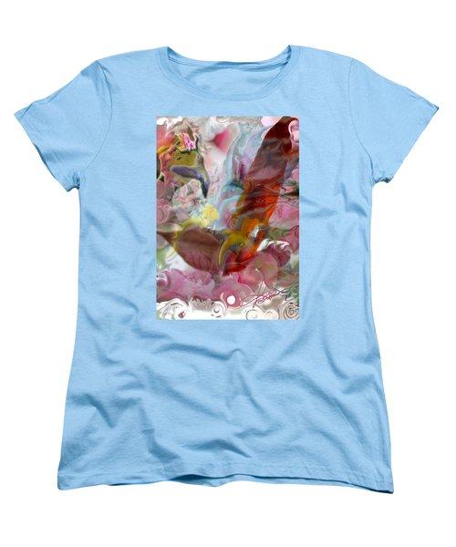 Eye Of Joy Women's T-Shirt (Standard Cut) by Deprise Brescia