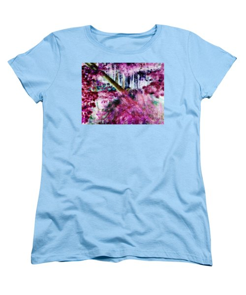 Women's T-Shirt (Standard Cut) featuring the photograph Fairy Tropicolor by Jamie Lynn