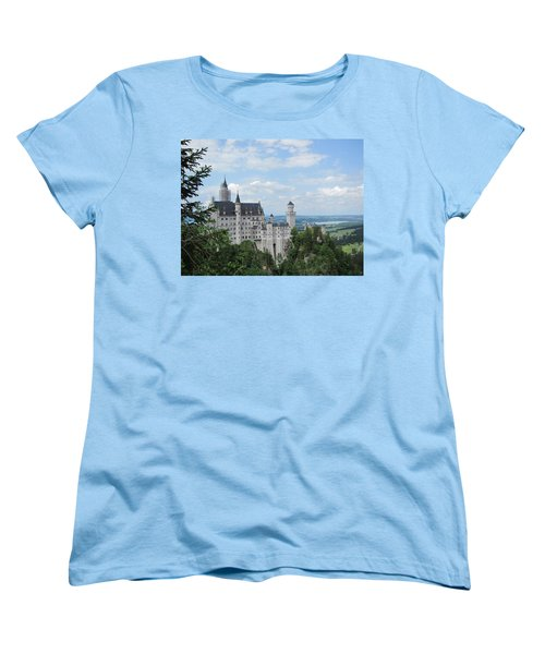 Women's T-Shirt (Standard Cut) featuring the photograph Fairytale Castle by Pema Hou