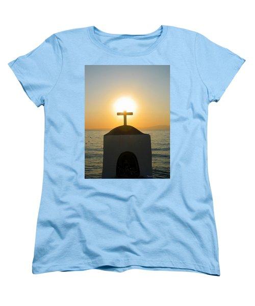Women's T-Shirt (Standard Cut) featuring the photograph Faith by Leena Pekkalainen