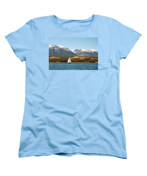 Fall In The Rockies Women's T-Shirt (Standard Cut)