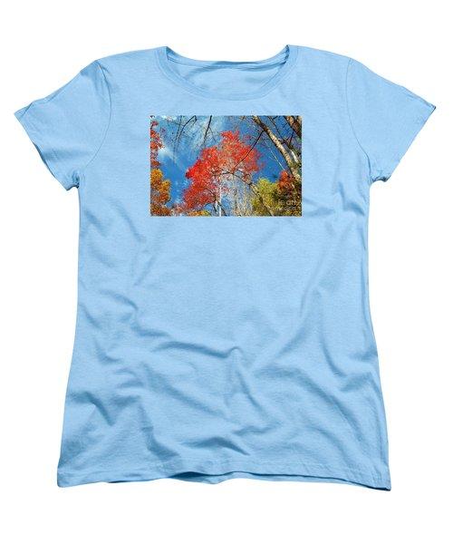 Women's T-Shirt (Standard Cut) featuring the photograph Fall Sky by Patrick Shupert