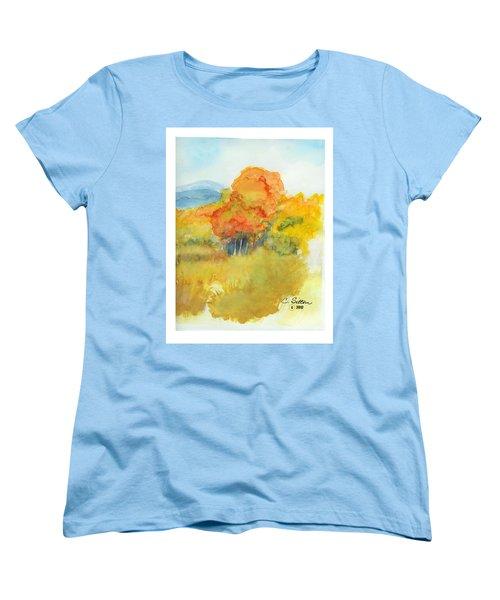Fall Trees 2 Women's T-Shirt (Standard Cut) by C Sitton