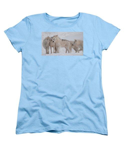 Women's T-Shirt (Standard Cut) featuring the photograph Family Ties by Bianca Nadeau