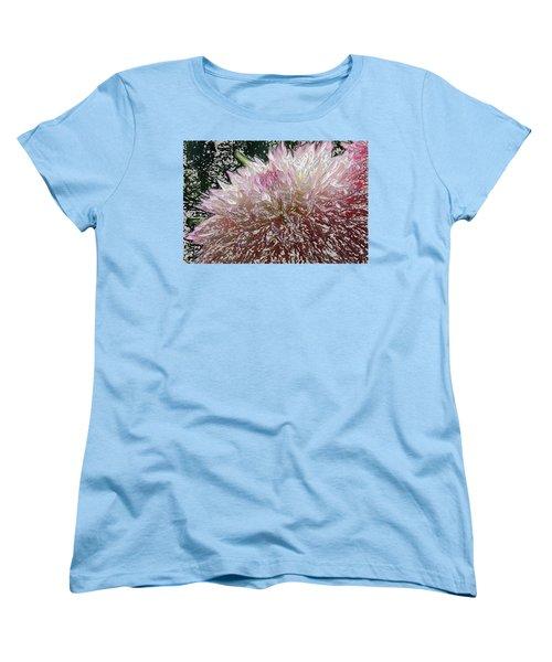 Fantasy Dahlia Women's T-Shirt (Standard Cut) by Denyse Duhaime