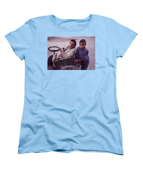 Father And Son Women's T-Shirt (Standard Cut) by Shaun Higson