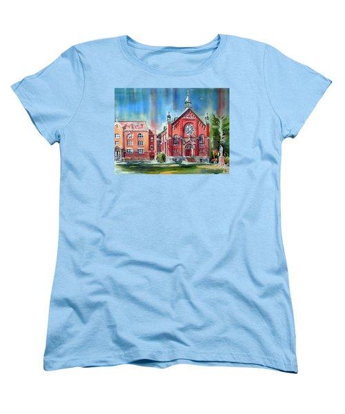 Feed The Birds IIi Women's T-Shirt (Standard Cut) by Kip DeVore