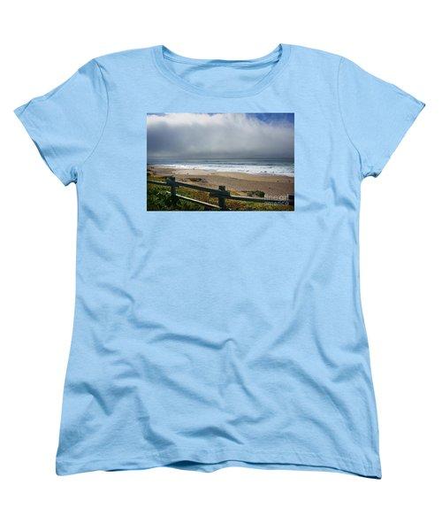 Women's T-Shirt (Standard Cut) featuring the photograph Feeling Small by Ellen Cotton