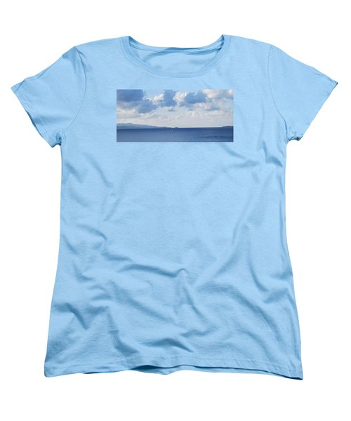 Ferry On Time Women's T-Shirt (Standard Cut) by George Katechis