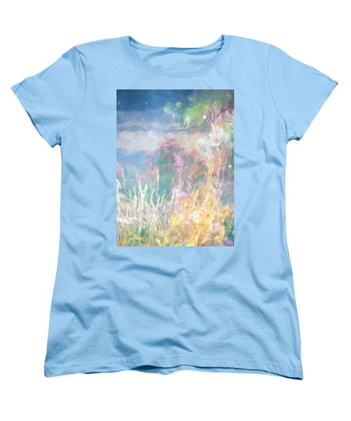 Women's T-Shirt (Standard Cut) featuring the photograph Fireweed Number 9  by Brian Boyle