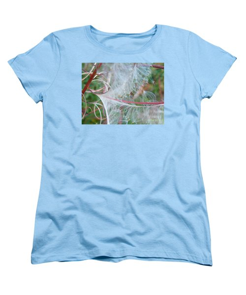 Fireweed Number One Women's T-Shirt (Standard Cut) by Brian Boyle