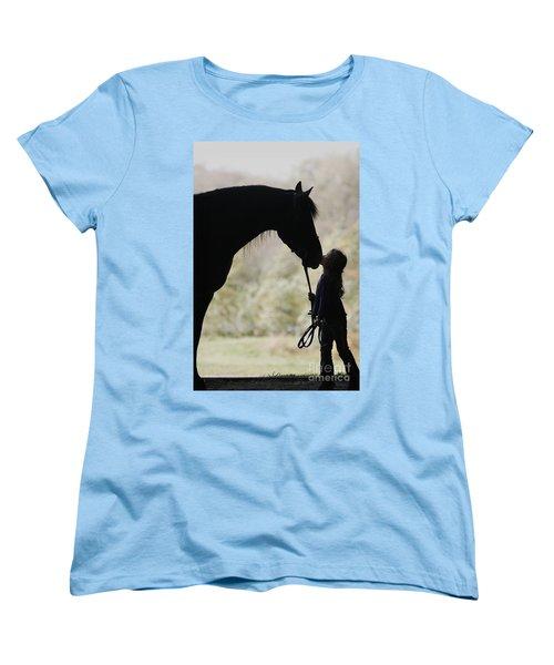 First Kiss Women's T-Shirt (Standard Cut)