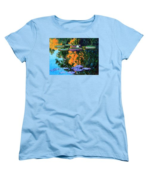 First Signs Of Fall Women's T-Shirt (Standard Cut) by John Lautermilch