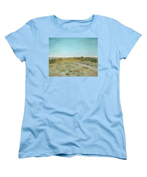 First Touch Of Autumn Women's T-Shirt (Standard Cut) by William Merritt Chase