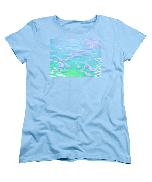 Fish Women's T-Shirt (Standard Cut) by Rachel Mirror