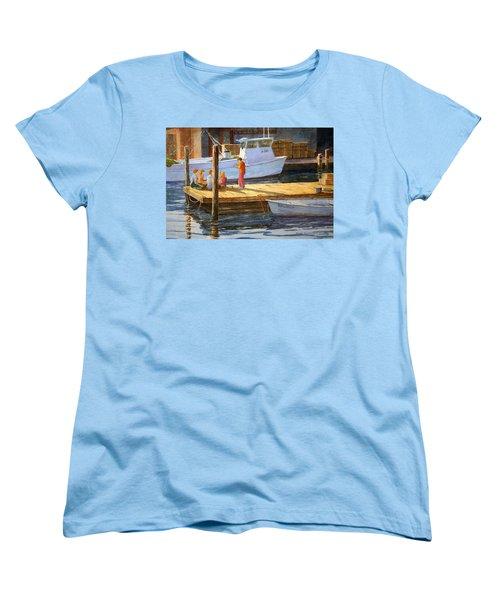 Fish Tales At Cortez Women's T-Shirt (Standard Cut) by Roger Rockefeller