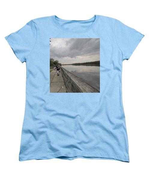 Fishing Women's T-Shirt (Standard Cut) by Mustafa Abdullah