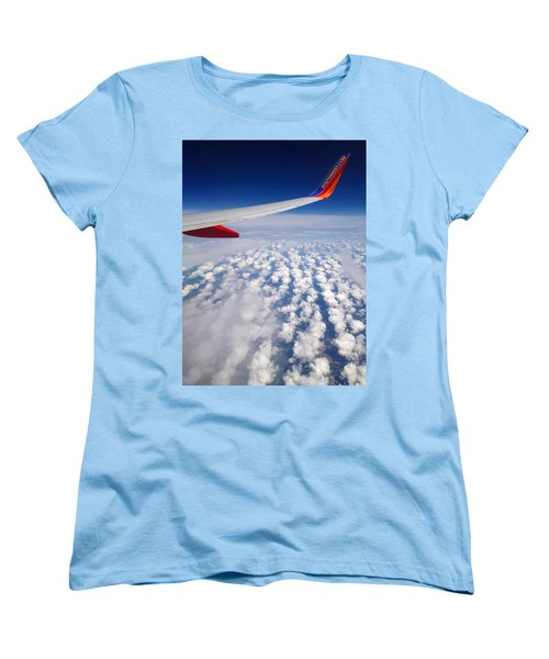 Flight Home Women's T-Shirt (Standard Cut) by Debra Martz