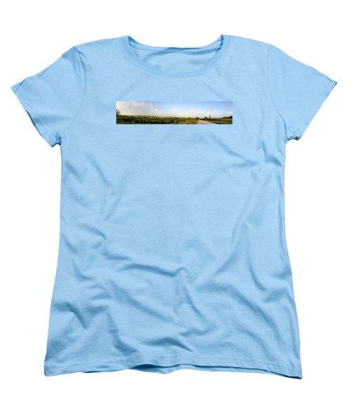 Flint Hills 2 Women's T-Shirt (Standard Cut) by Brian Duram