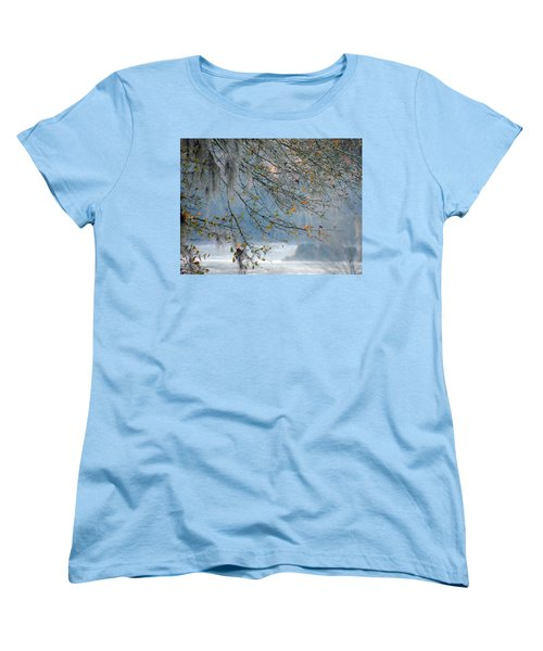Flint River 29 Women's T-Shirt (Standard Cut) by Kim Pate