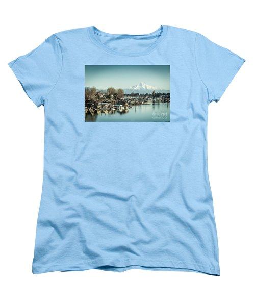 Floating World Women's T-Shirt (Standard Cut) by Patricia Babbitt