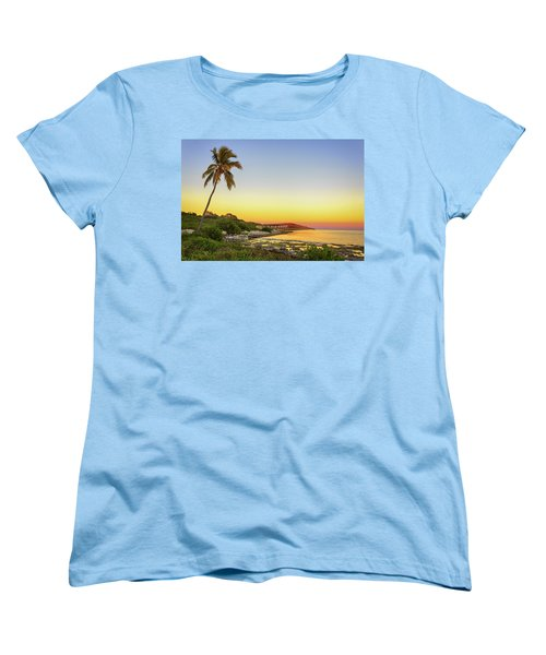 Florida Keys Sunset Women's T-Shirt (Standard Cut) by Swank Photography