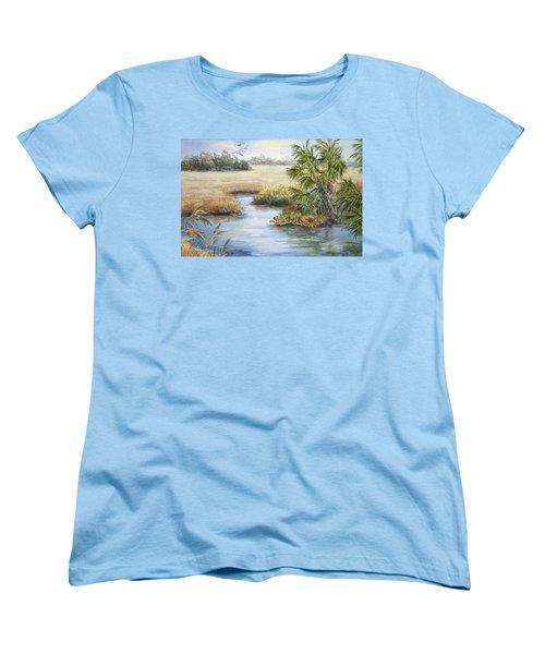 Florida Wilderness IIi Women's T-Shirt (Standard Cut) by Roxanne Tobaison