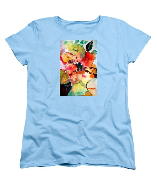 Women's T-Shirt (Standard Cut) featuring the painting Flower Vase No. 2 by Michelle Abrams
