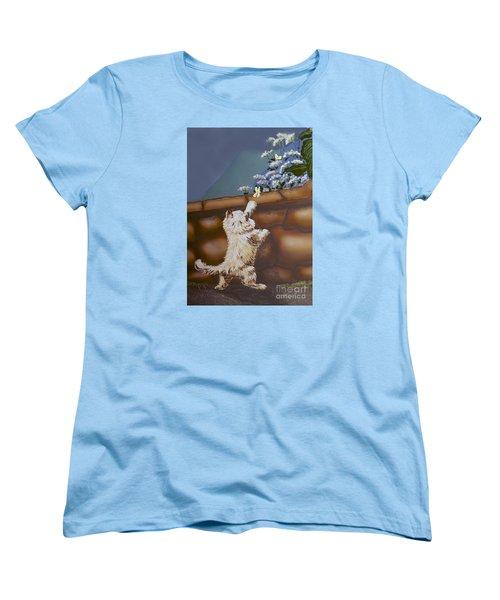 Fluff And Flutter Women's T-Shirt (Standard Cut)